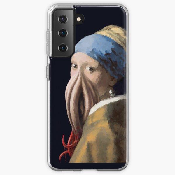 La Jeune Fille à la pieuvre Coque souple Samsung Galaxy