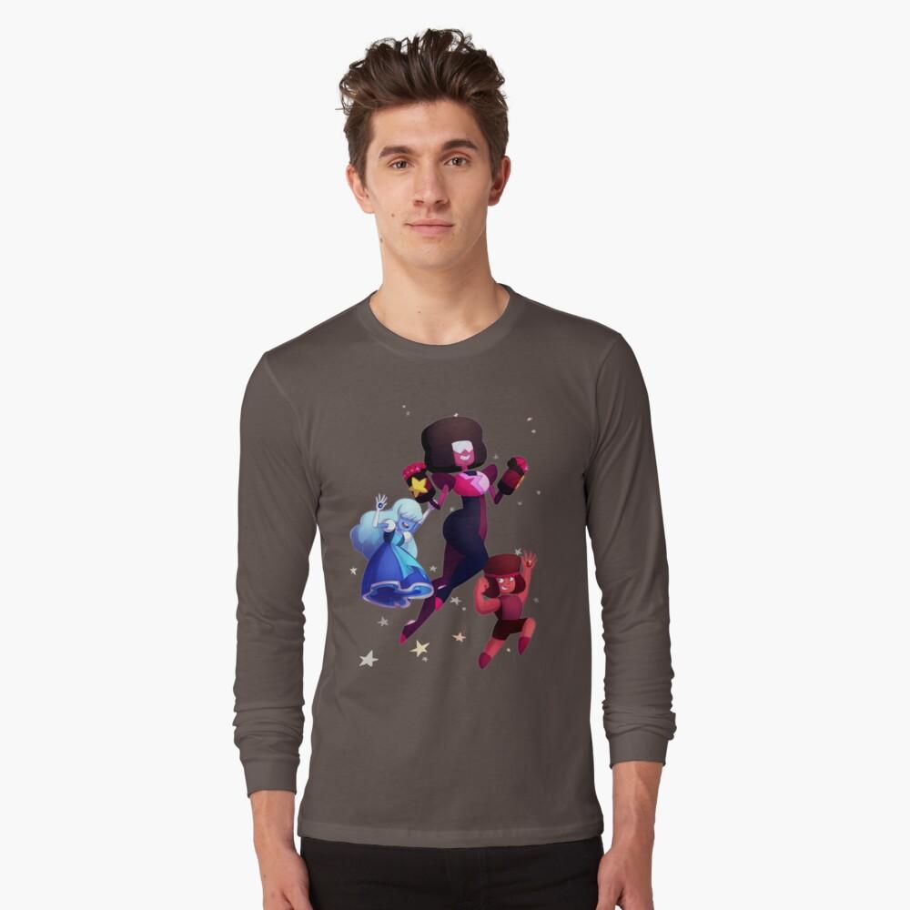Garnet - Steven Universum Fanart, Saphir, Rubin, Fusion Langarmshirt
