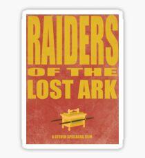 Raiders Of The Lost Ark Sticker
