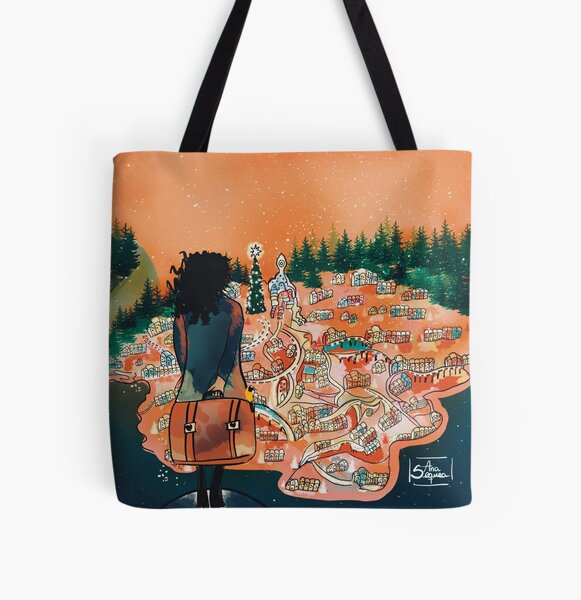 Lighting up the longing All Over Print Tote Bag