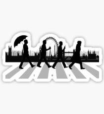 221B Abbey Road (Version Two) Sticker