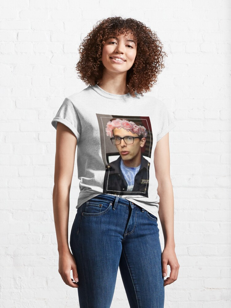 Alternate view of iDubbbzTV Flower Crown Classic T-Shirt