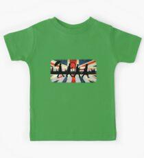 221B Abbey Road (Version One) Kids Tee