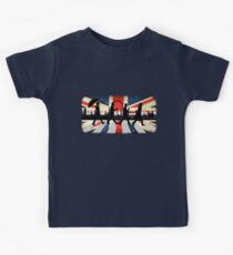 221B Abbey Road (Version One) Kids Tee