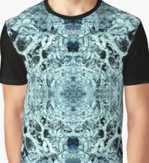 Snow Tunnel Reflections - Meditative Pattern Graphic T-Shirt
