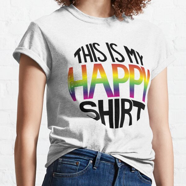 This Is My Happy Shirt (The Magicians) Classic T-Shirt