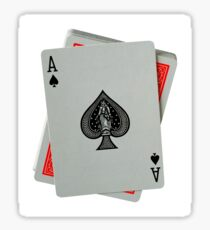ACE OF SPADES (LARGE) Sticker