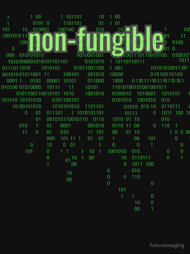 Non-Fungible Digital Green by futureimaging