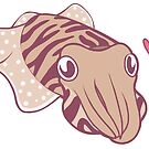 Cuttlefish love by Jen Richards