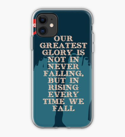 Confucius Inspiratonal Quote iPhone Case