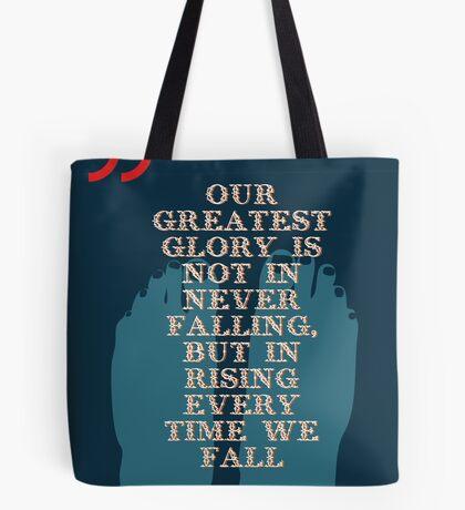 Confucius Inspiratonal Quote Tote Bag
