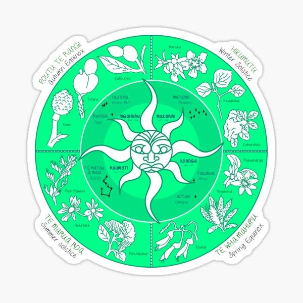 Māori Lunar Calendar - Maramataka - Matariki Sticker
