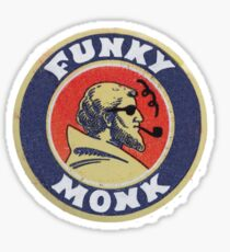 Funky Monk Sticker