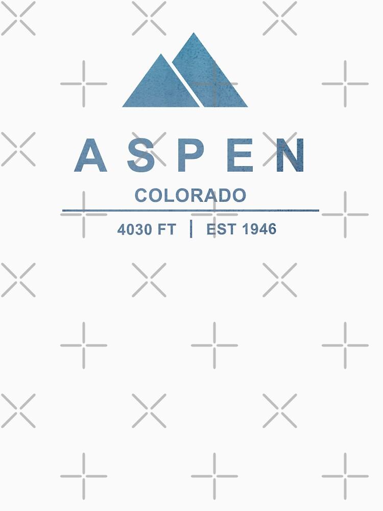 Aspen Ski Resort Wyoming by CarbonClothing