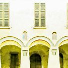 Fognano: arch and windows by Giuseppe Cocco