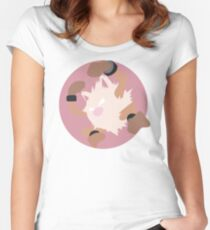 Primeape - Basic Women's Fitted Scoop T-Shirt