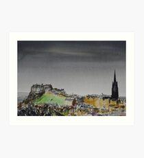 Edinburgh 7 Art Print