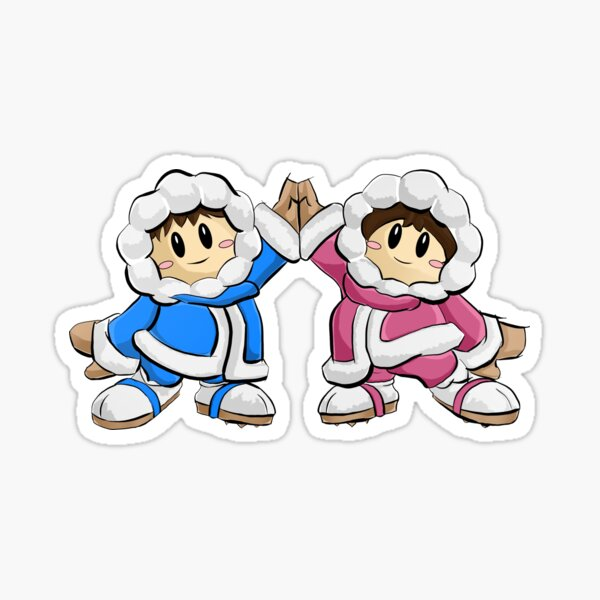 Ice Climbers SSBM Sticker
