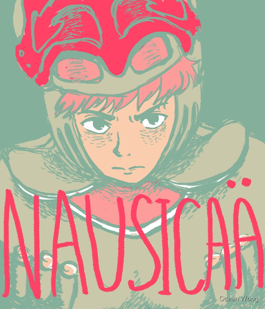 Nausicaä of the Valley of the Wind by Ocean Wong