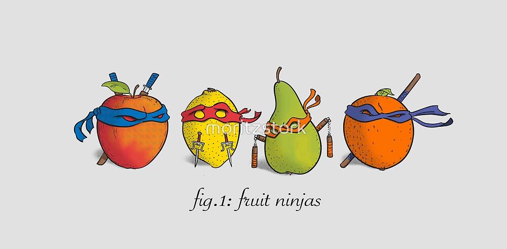 Fruit Ninja Turtles von moritzstork
