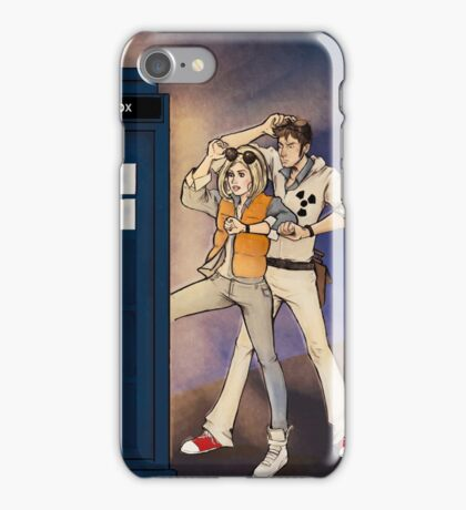 Back to the Tardis iPhone Case/Skin