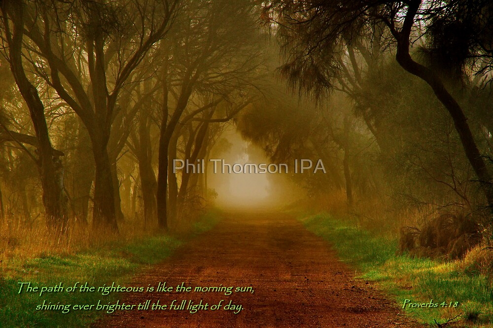 """The Path Of The Righteous"" by Phil Thomson IPA"