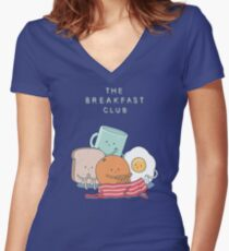 The Breakfast Club Women's Fitted V-Neck T-Shirt
