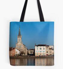 Saint-Laurent-sur-Saône Tote Bag