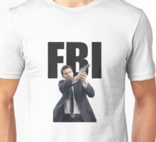 Bones Booth FBI David Boreanaz Unisex T-Shirt