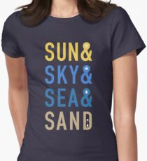 Fun In The Sun Women's Fitted T-Shirt