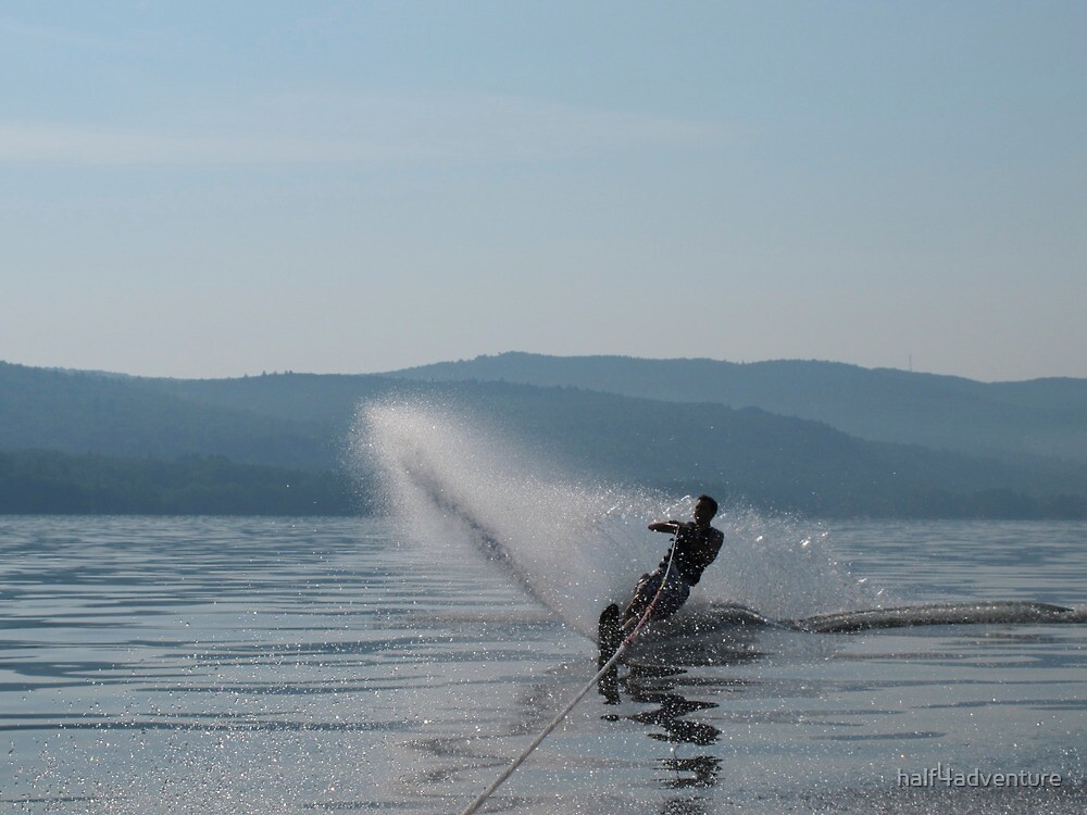 Waterskier by half4adventure