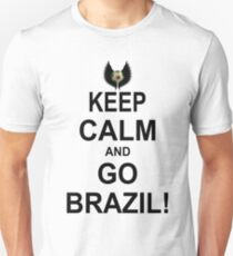 Keep Calm And Go Brazil! T-Shirt