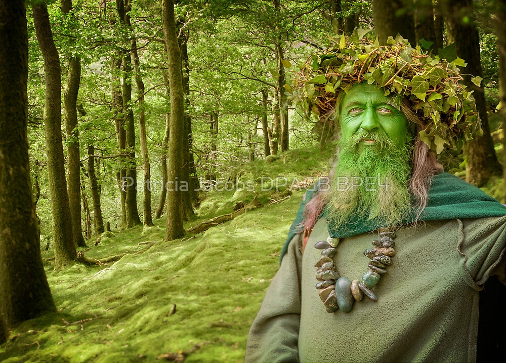 Green Man Of The Woods by Patricia Jacobs DPAGB BPE4