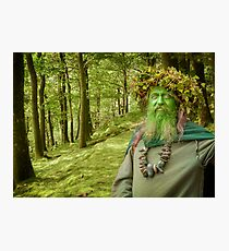 Green Man Of The Woods Photographic Print