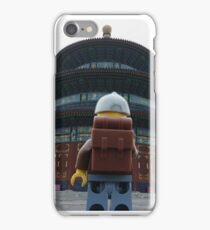 The Lego backpacker Checking out the sites in Beijing iPhone Case/Skin