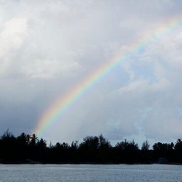 Bora Bora Rainbow by half4adventure