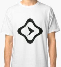 Pause Resume Black Logo Classic T-Shirt