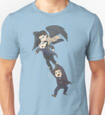 The angel, the sociopath and the timelord T-Shirt