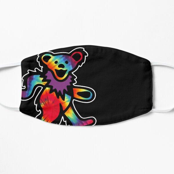 Teinture cravate ours hippie mort Grateful Dancing Masque sans plis
