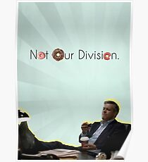Not Our Division  Poster