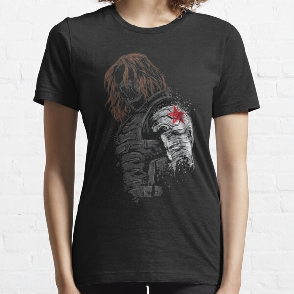 bucky  Falcon and the Winter Soldier Essential T-Shirt