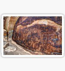 Rochester Petroglyph Rock Art Panel - Utah Sticker