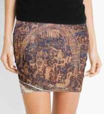 Rochester Petroglyph Rock Art Panel - Utah Mini Skirt