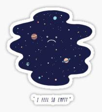 Negative Space Sticker