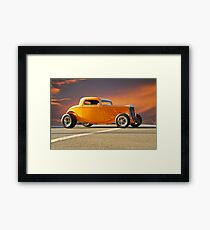 1933 Ford HiBoy Coupe Framed Print