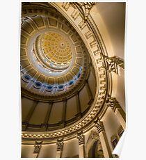 Colorado Capitol Building Rotunda - Denver Poster