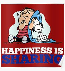 Snoopy and Charlie Brown Quote Poster