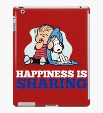 Snoopy and Charlie Brown Quote iPad Case/Skin