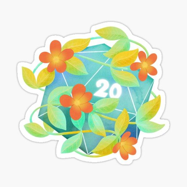 Natural 20 Sticker
