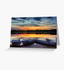 Reflections of Dusk Greeting Card